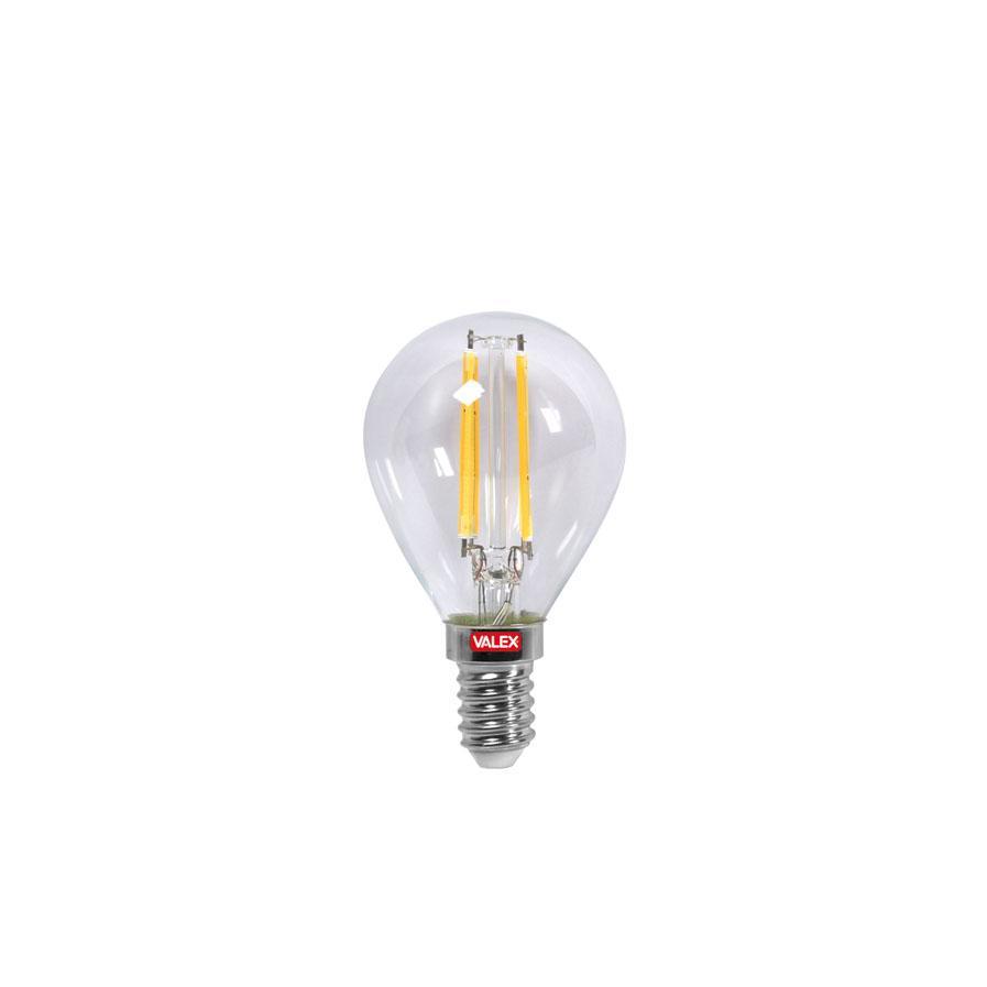 LAMPADINA LED FILAMENTO GLOBO CHIARA ATTACCO E14