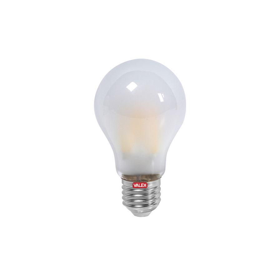 LAMPADINA LED FILAMENTO GOCCIA SATINATA ATTACCO E27