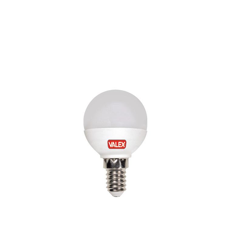 LAMPADINA LED GLOBO ATTACCO E14