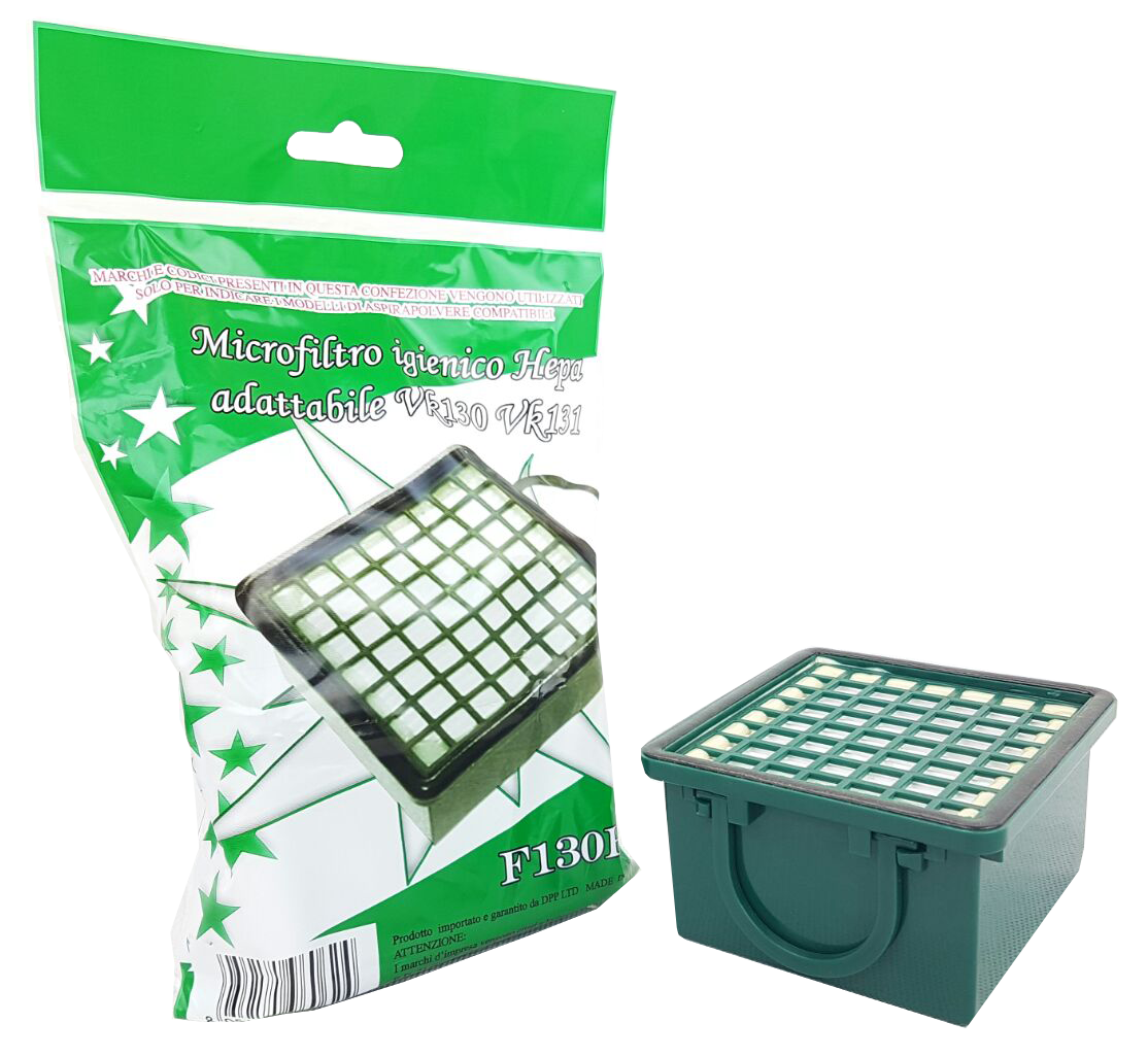 Microfiltro igienico hepa per vk 130-131
