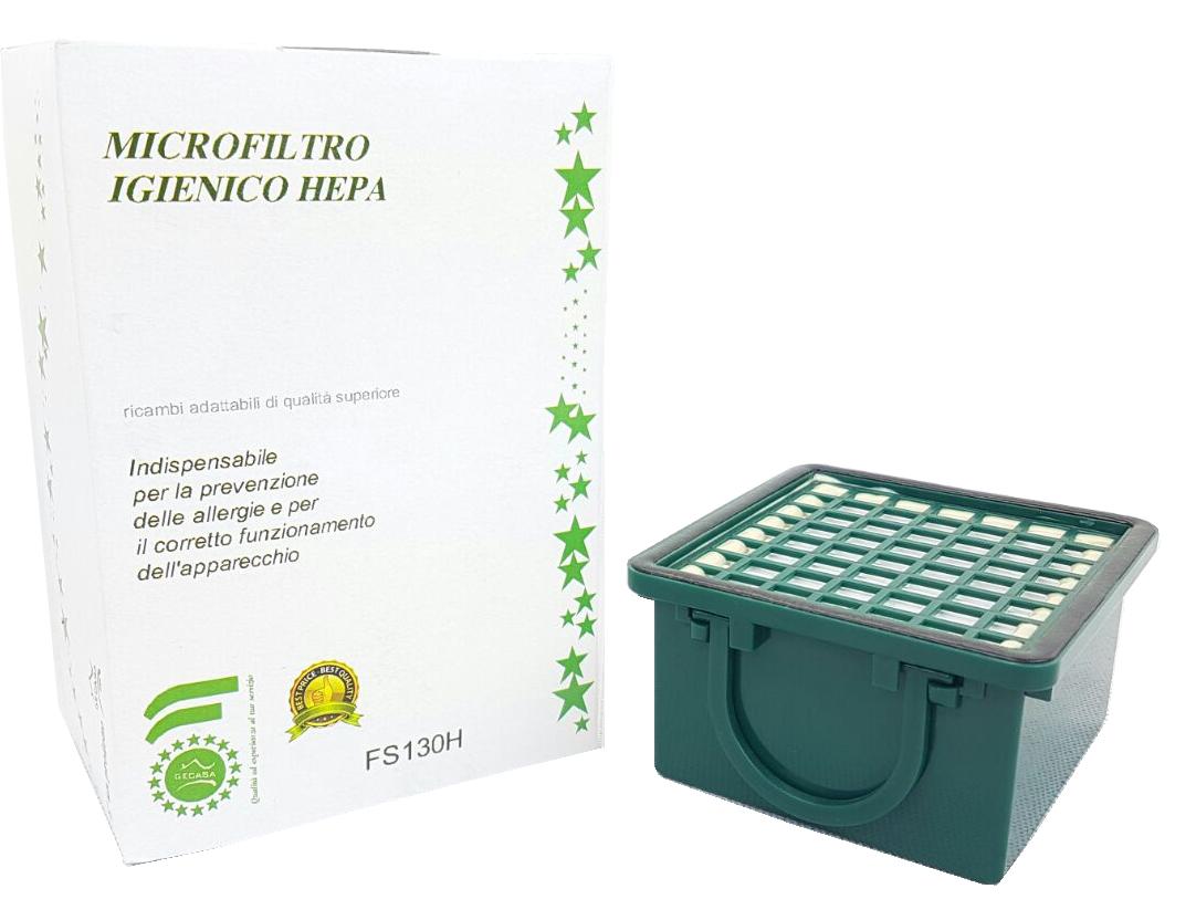 Microfiltro igienico hepa in scatola per vk 1