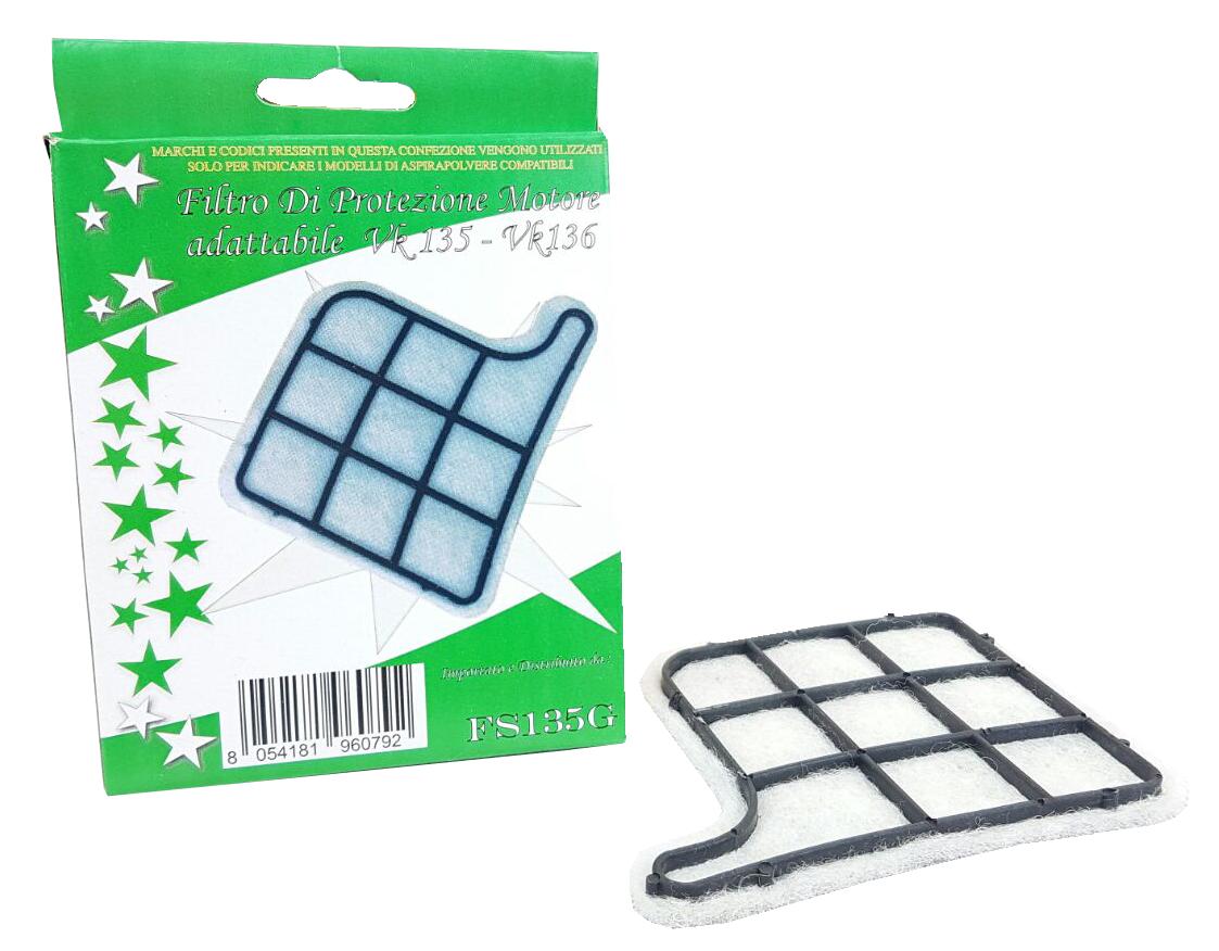 Filtro griglia in scatola per vk 135-136