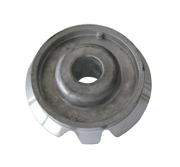 Bruciatore in alluminio semi rapido con 2 asole adattabile Ariston Merloni