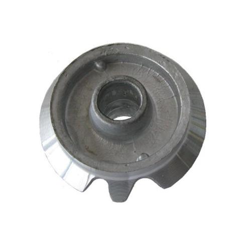 Bruciatore in alluminio ausiliario con 2 asole adattabile Ariston Merloni