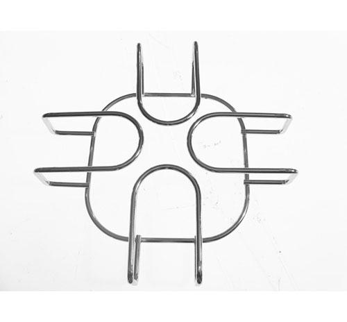 Griglia in acciaio 1 fuoco dim 14x14 cm per piano cottura Franke