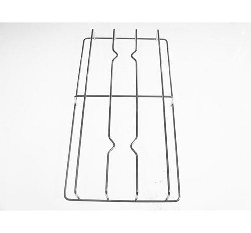 Griglia 2 fuochi in acciaio per cucina piano cottura Samet dim 43.3x23