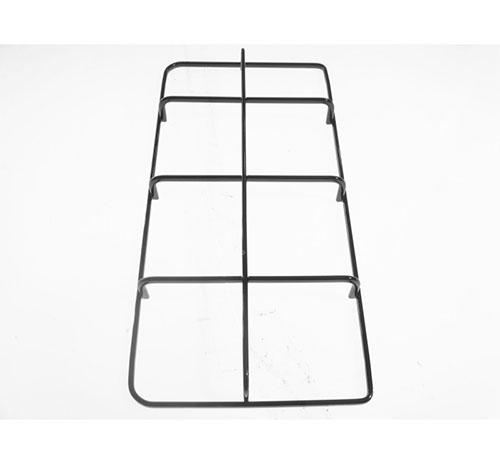 Griglia in piattina smaltata nera lucida per piano cottura Smeg White Westinghouse cm22.5x46