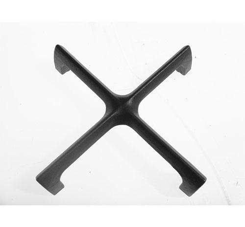 Griglia a croce in ghisa originale Franke cm 18x18 cod 1982666 - 133.005400755