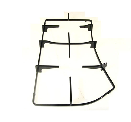 Griglia da cucina sinistra dim 43.5x22/26.5 per piani cottura Hotpoint Ariston Indesit PH750 e PH760