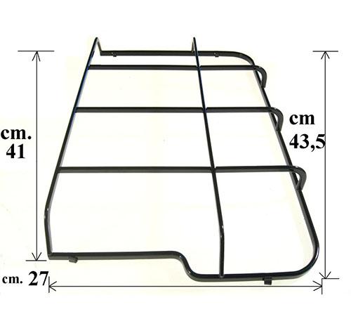 Griglia destra piano cottura cm43.5x27 Rex Electrolux Zanussi