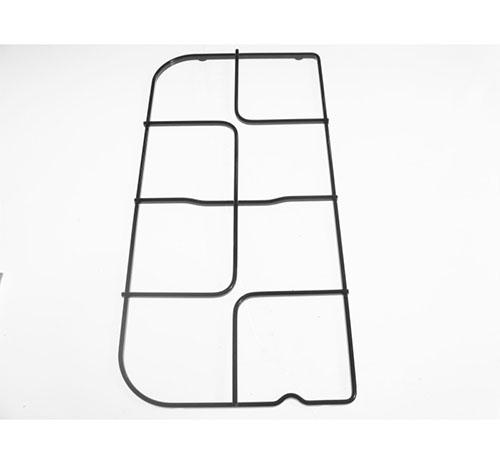 Griglia per piano cottura 2 fuochi anteriore Candy Iberna Rosieres dim 49.3x24 cm ca