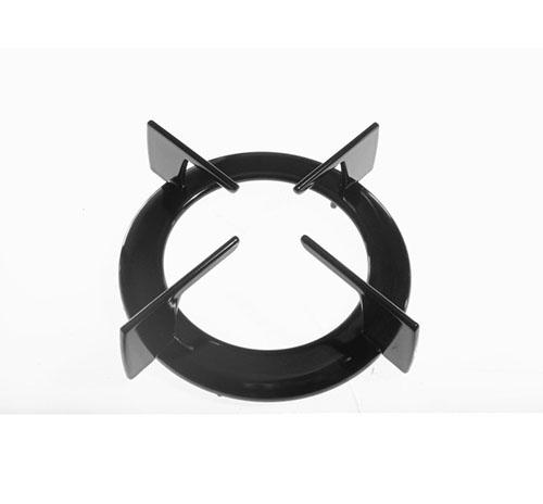 Griglia un fuoco tonda nera di diametro 16.5cm Hotpoint Ariston