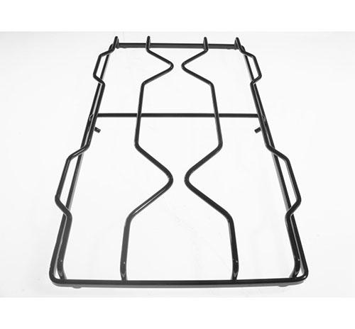 Griglia 2 fuochi smaltata nera 45.5x25.5 cm Ariston