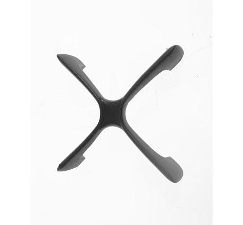 Griglia in ghisa a croce per cucina Rex Electrolux Zanussi cm 21x45 originale 3546141015