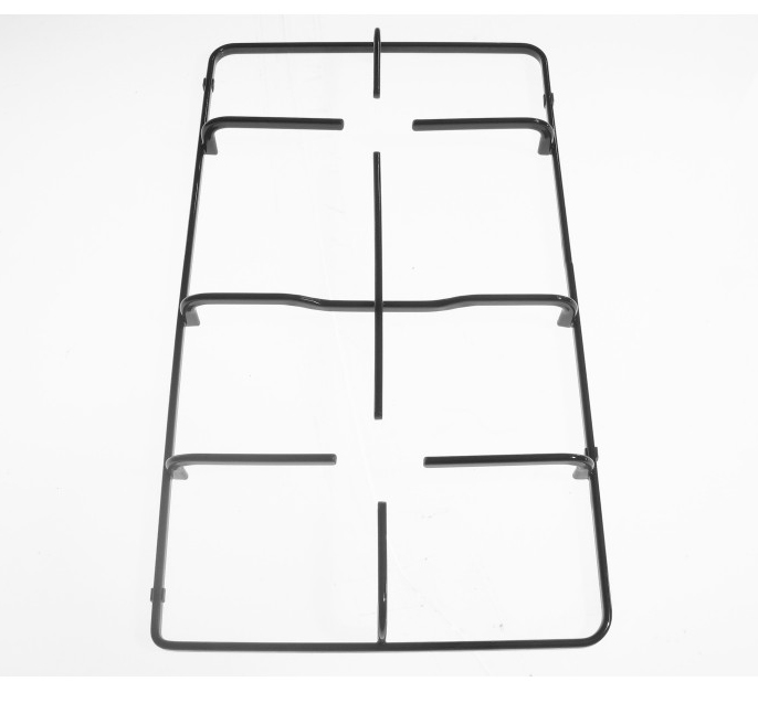 Griglia in piattina smaltata nera due fuochi adattabile Nardi 45.5x26.5 cm