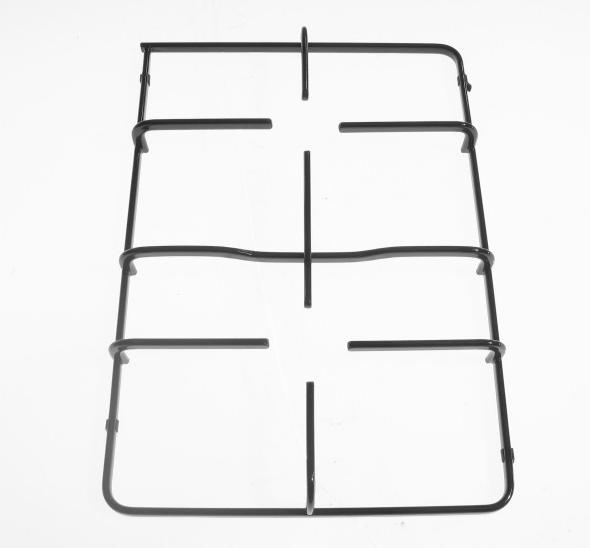 Griglia in piattina smaltata nera due fuochi adattabile Nardi 38 x 26,5 cm