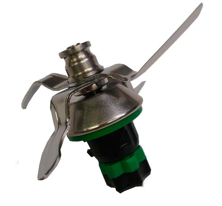 Gruppo coltelli con guarnizione adattabile a Bimby TM6 codice originale 58330