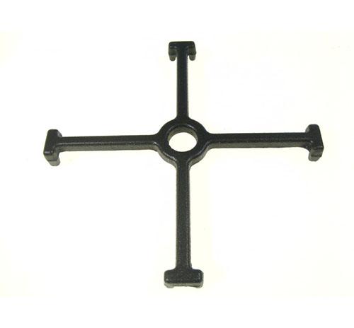 Riduttore griglia a croce in ghisa per piano cottura Franke 16x16 cod. 1981837