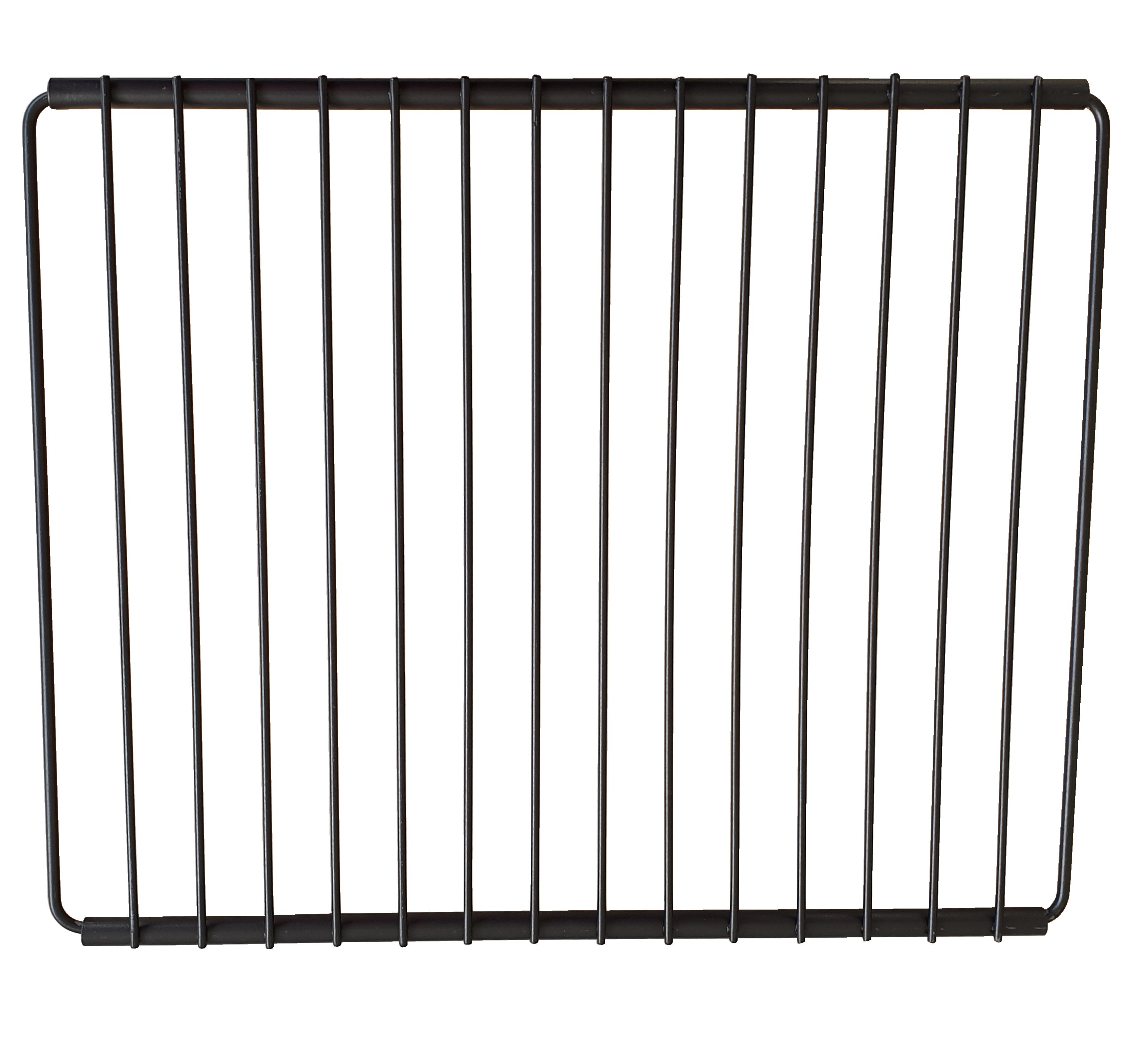 GRIGLIA UNIVERSALE CROMATA GRANDE NERA max  350 x 640