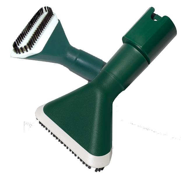 Spazzola con setola ed adattatore per tubo fl
