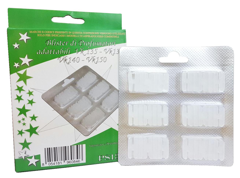Blister da 6 profumini in scatola per VK135 fragranza classica