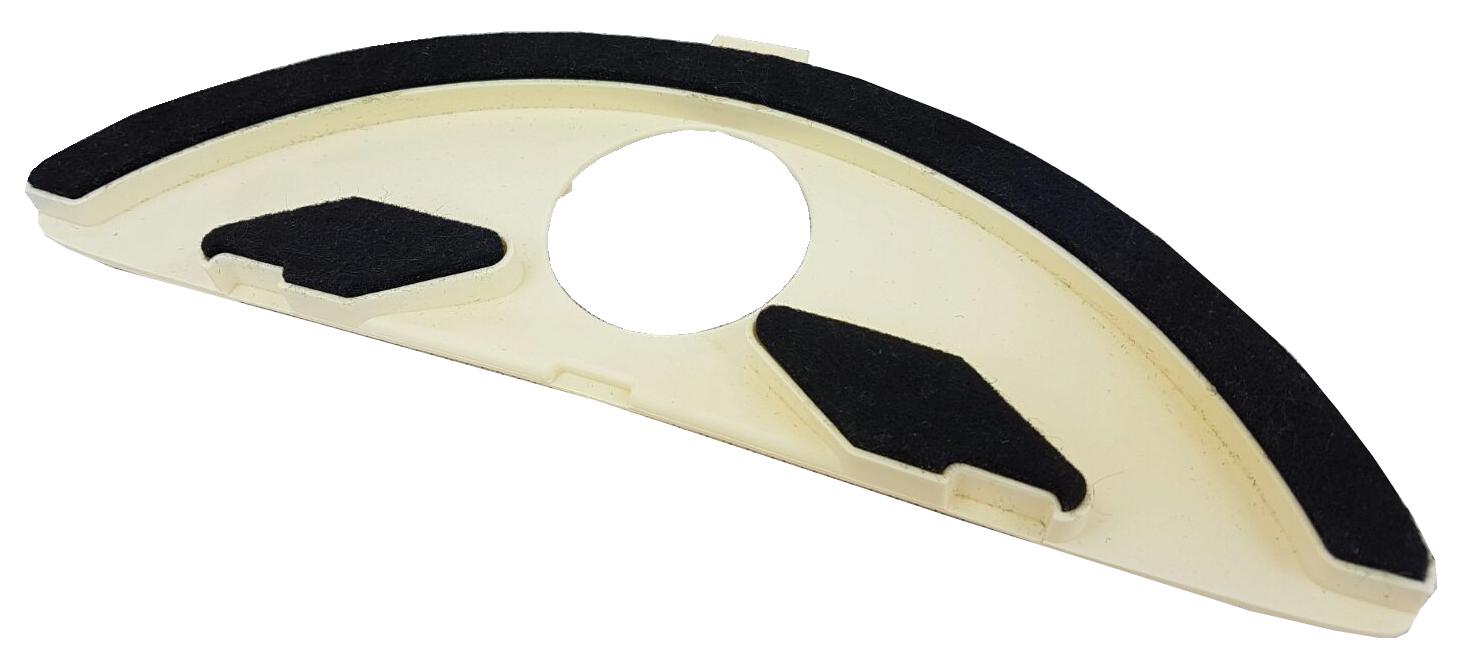 Sottospazzola snodata con setole per vk 130-1
