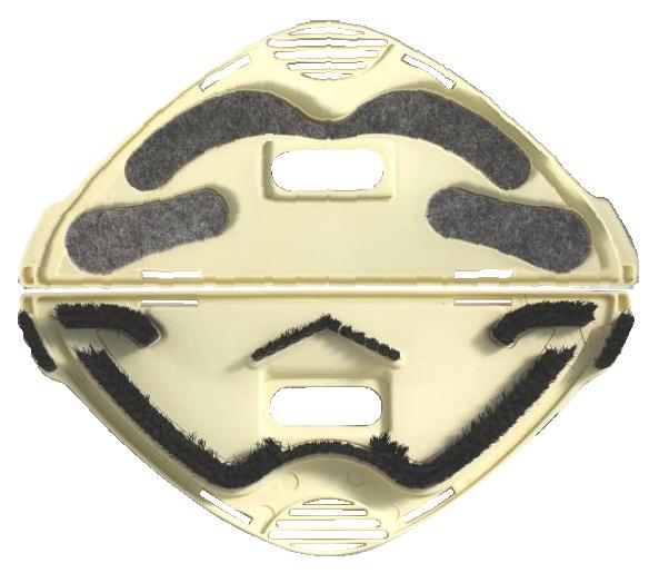 Sottospazzola combi setole/feltro vk 130-131