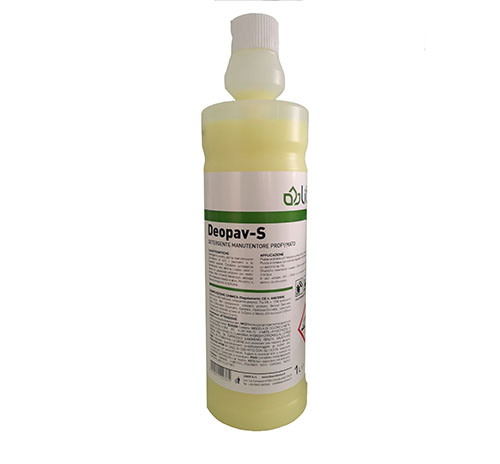 Deopav-S detergente manutentore profumato per Pavimenti, superfici Lavabili e Pulilava da 1L