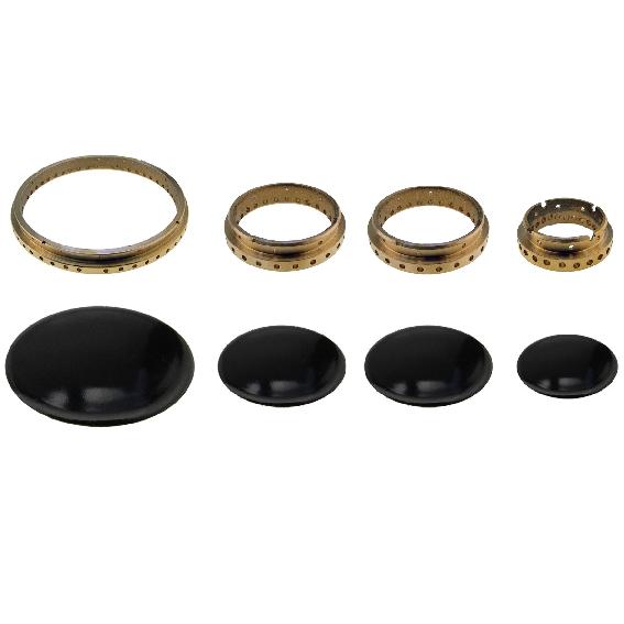 Kit Completo anelli e piattelli Nardi Samet Lofra doppio medio