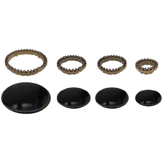 Kit completo anelli e piattelli Ariston Merloni Samet doppio medio