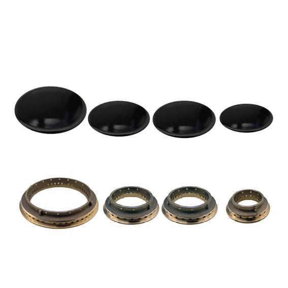 Kit completo anelli e piattelli Smeg doppio medio