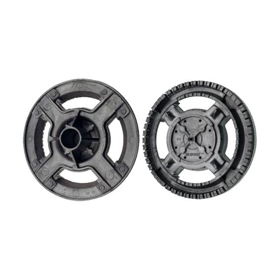 Bruciatore alluminio corona adattabile Ariston Merloni