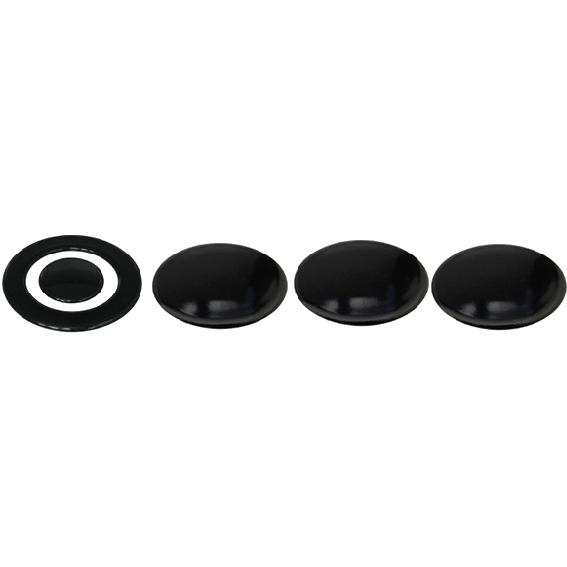 Kit piattelli smaltati Ariston Merloni 3 fuochi più tripla corona
