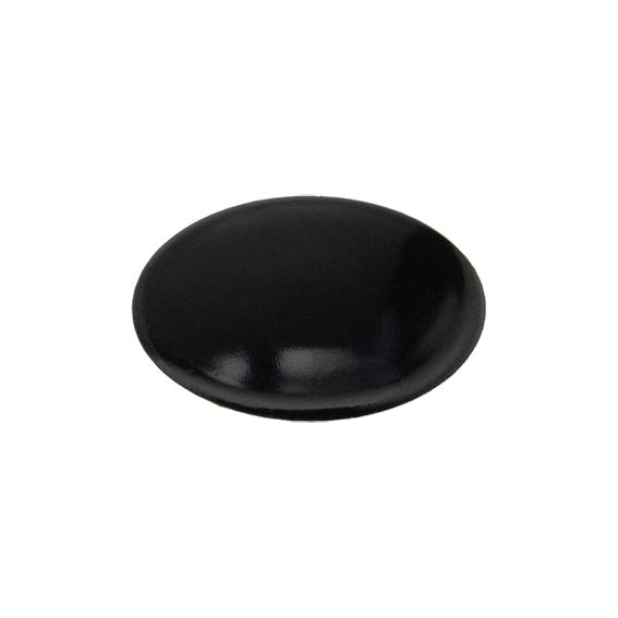 Piattello smaltato nero semi rapido tipo nuovo Ariston Merloni Nardi Franke 8.5 cm