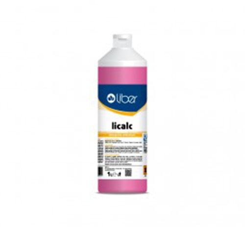 Licalc detergente anticalcare indicato per residui di sporco. incrostazioni di urina, gesso e sali minerali 1L