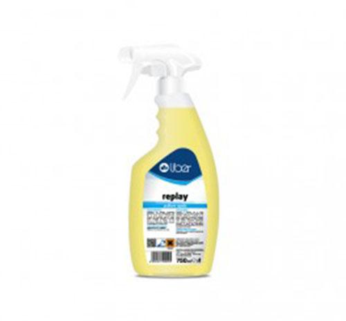 Replay pulitore rapido con caratteristica dissolvente spray da 750ml indicato per rimuovere segni di matite, penne, penn