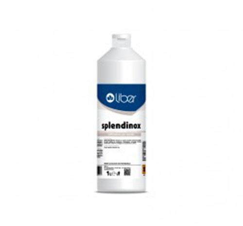 Splendinox Detergente cremoso da 1L per Acciaio Inox per riattivare ossidazioni, macchie saldature