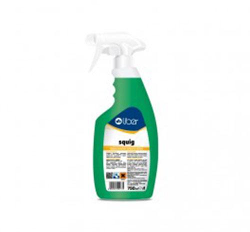 Squig Disincrostante Schiuma Attiva Spray da 750ml Contro incrostazioni di calcare, ruggine