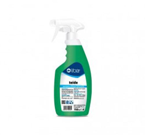 Teide detergente pulibagno igienizzante spray da 750ml privo di acidi ottimo su marmi e granito